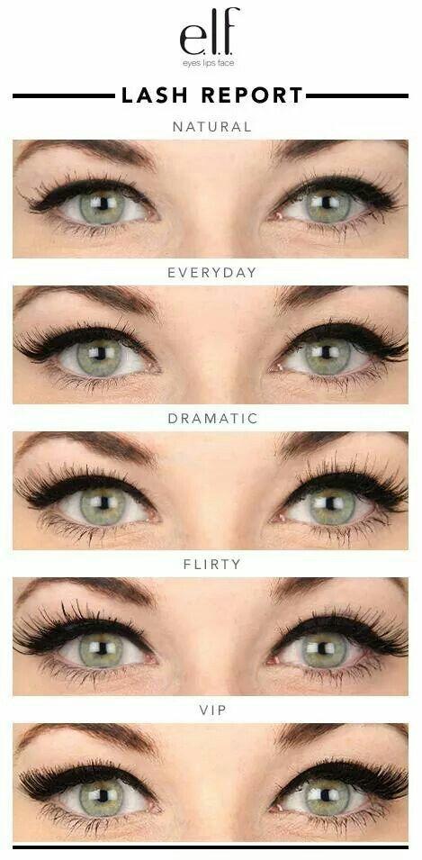 Elf eyelashes