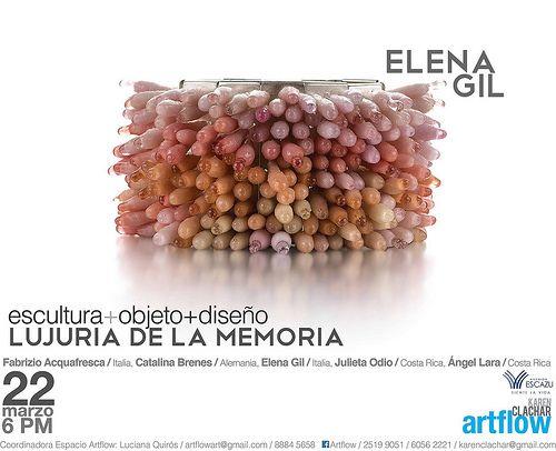 EXPO Lujuria de la Memoria - Elena Gil jewelry