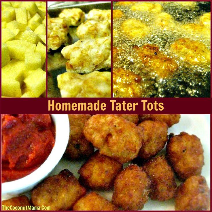 Homemade Tater Tots Recipe — Dishmaps