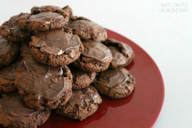 Chocolate-Mint Cookies // Christmas Cookie Recipe Swap 2013 | Recipe