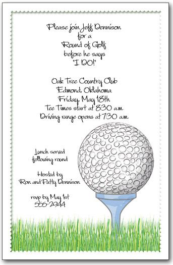 Golf day invitation letter invitationswedd best 20 golf outing ideas on party theme stopboris Images