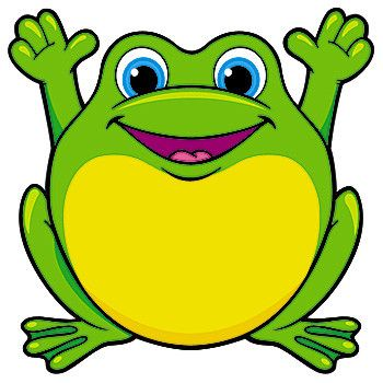 Happy frog | Clip art 2 | Pinterest