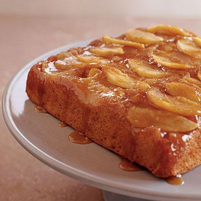 Caramel Apple Upside-Down Cake | Some Cake Please | Pinterest