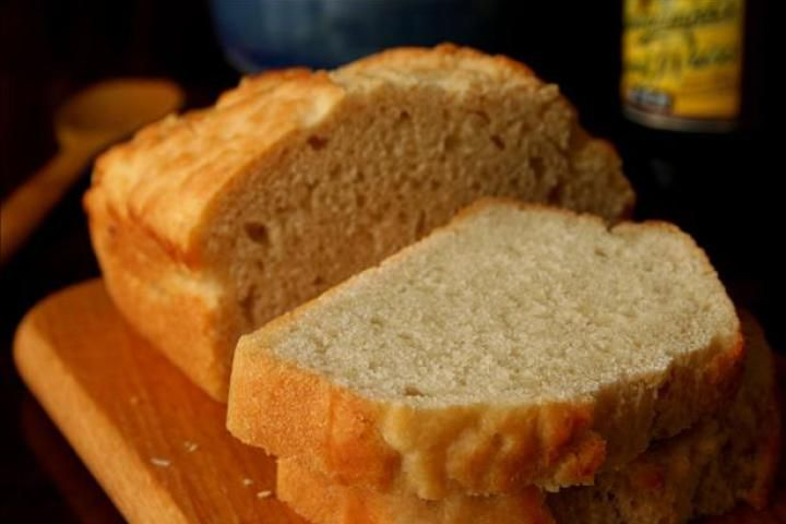 Beer Bread - trying this recipe right now!