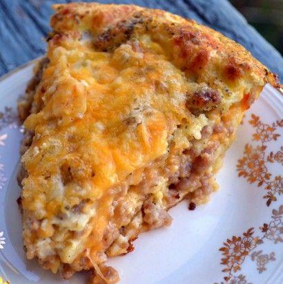 Monterrey Sausage Pie
