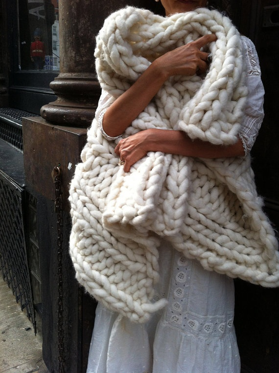 Wool For Knitting : Loopy Mango Big Loop Merino Super Chunky Yarn for Chunky Knits