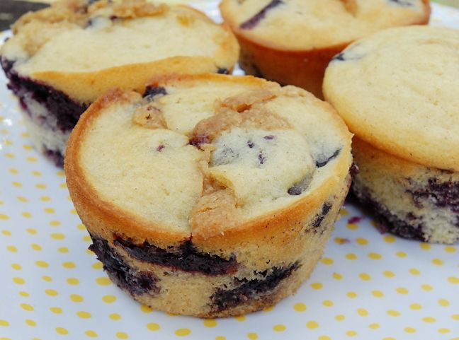 muffins recipe - blueberry buttermilk | Kitchen Tips & Recipes | Pint ...