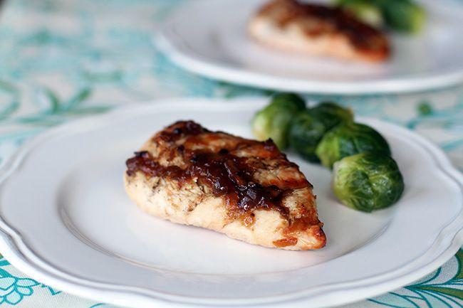 Bourbon Bacon Jam Chicken | chicken or poultry | Pinterest