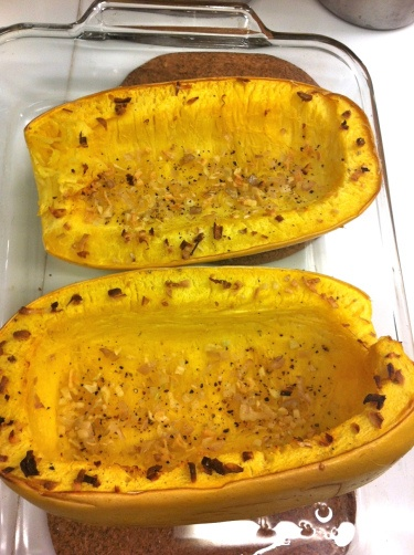 Roasted Spaghetti Squash With Avocado Recipe — Dishmaps