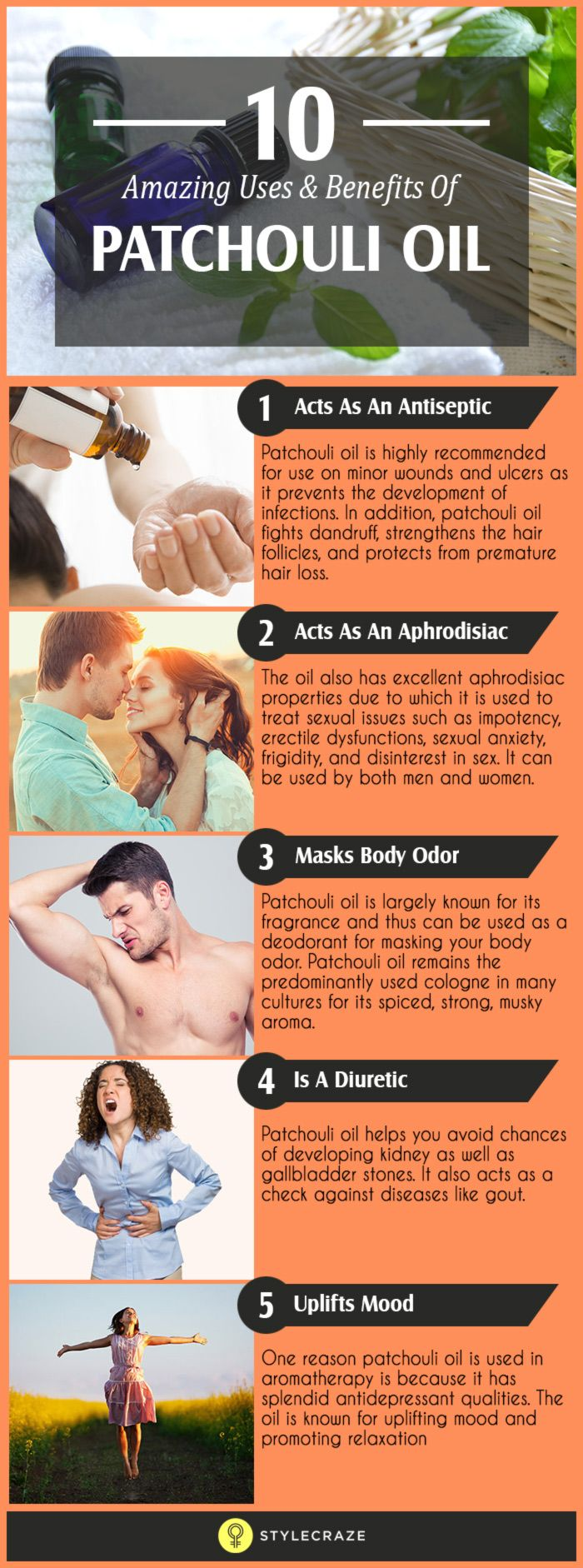 10 Amazing Uses And Benefits Of Patchouli Oil
