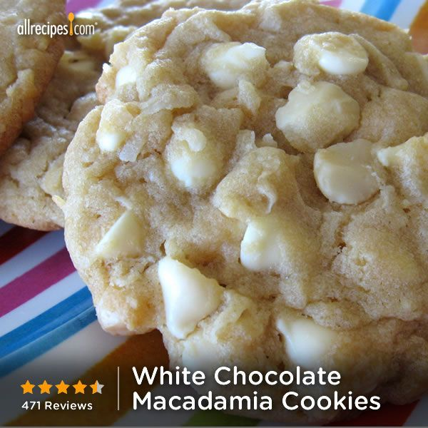 Sept 4- Macadamia Nut Day | White Chocolate Macadamia Nut Cookies IV
