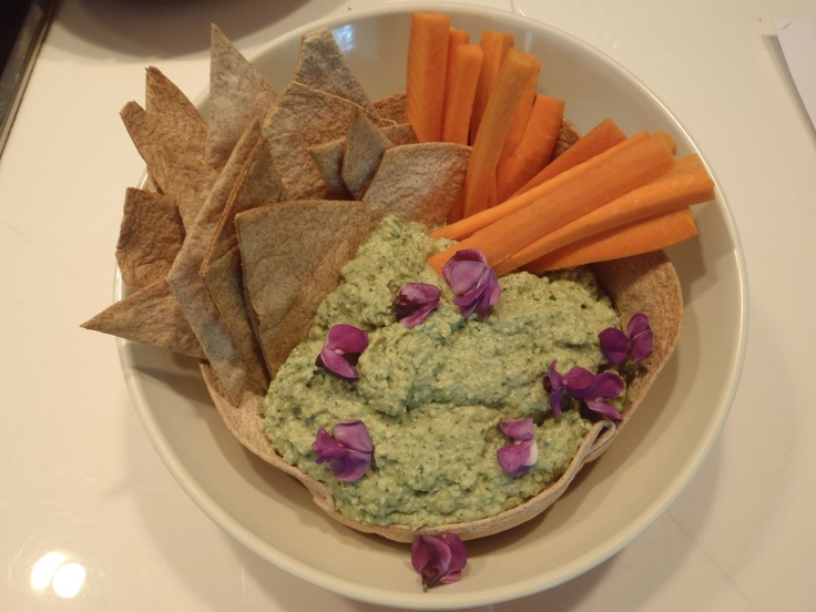 Edamame & Broccoli Dip 2 cups shelled edamame, cooked 1 lb overcooked ...