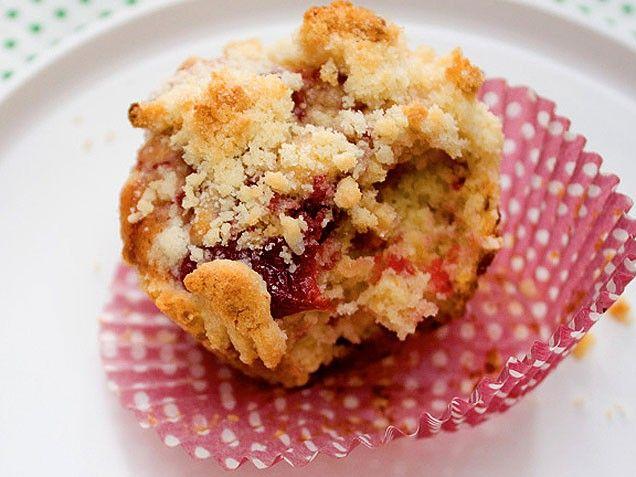 Fresh Cherry and Raspberry Muffins   Recipe