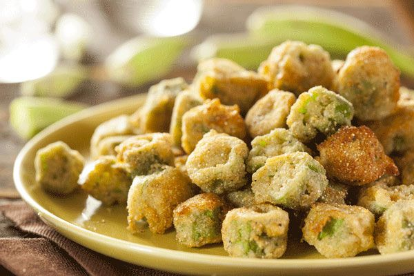 Fried Okra | Looks delicious | Pinterest
