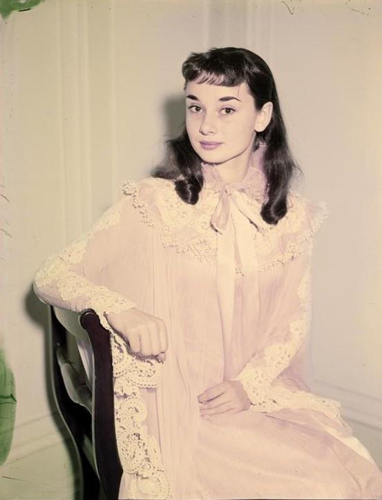 Audrey Hepburn as Gigi...