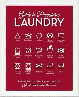 Entrepreneur Mom: Laundry Guide Procedures