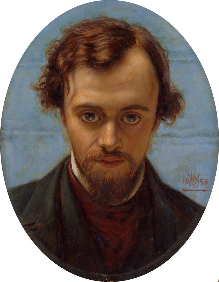 Autorretrato de Dante Gabriel Rossetti