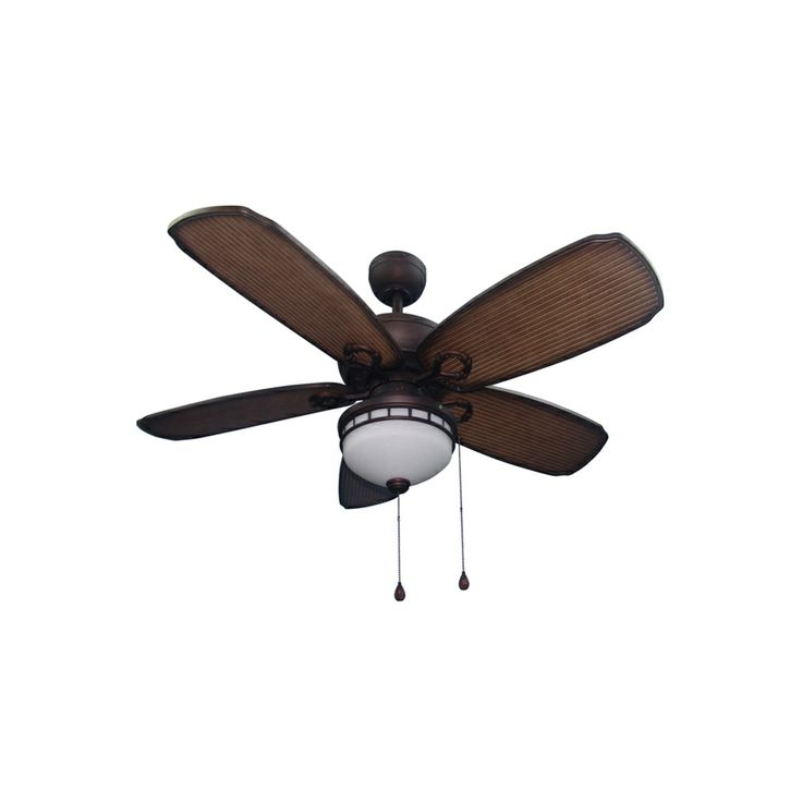... Aged Bronze Outdoor Downrod or Flush Mount Ceiling Fan with Light Kit