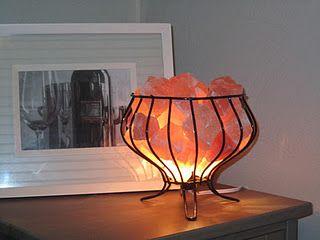 Himalayan Salt Lamps Diy : DIY Himalayan Salt Lamp Home Pinterest
