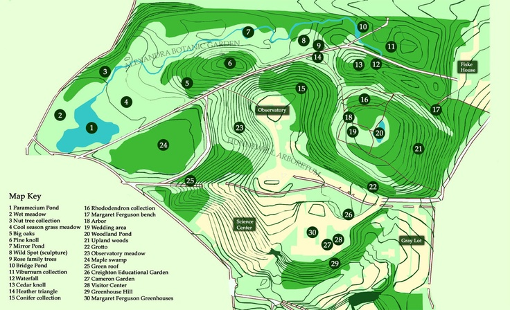Map Of Botanic Gardens Wellesley College Botanical Gardens Free To Public