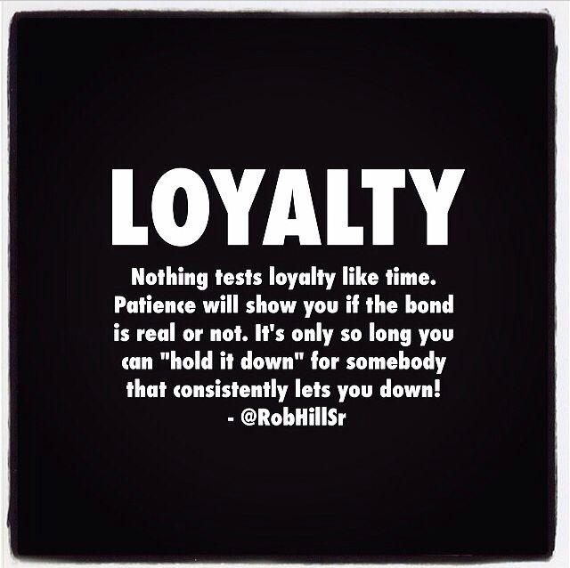 how to build loyalty in a relationship