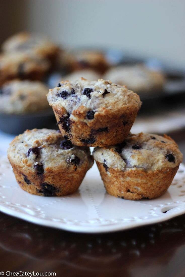Blueberry Muffins made with Frozen Blueberries | Recipe