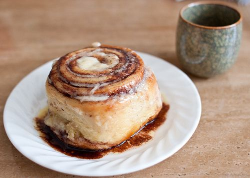 This is a real Cinnabon. | sweet. | Pinterest