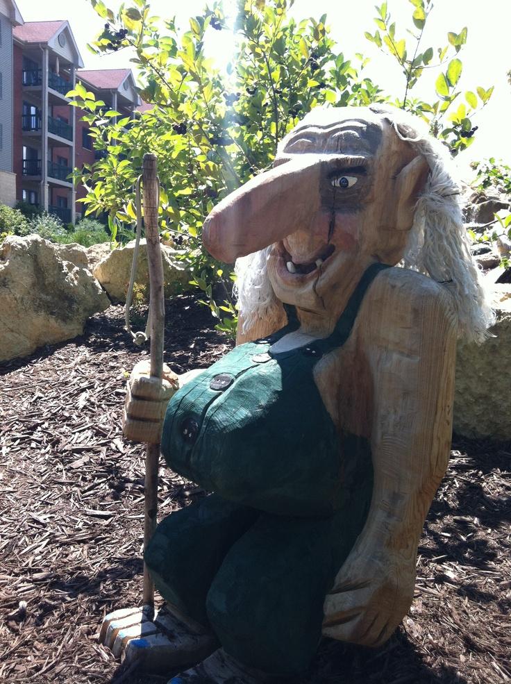troll garden garden pinterest