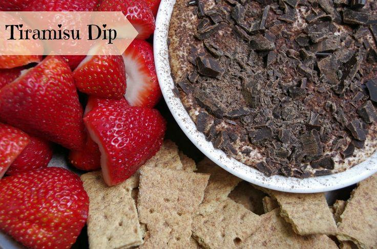 Tiramisu Dip | Recipe