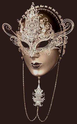 Very interesting mask.