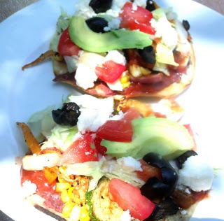Grilled Vegetable Tostadas | A Table At Robertridge | Pinterest