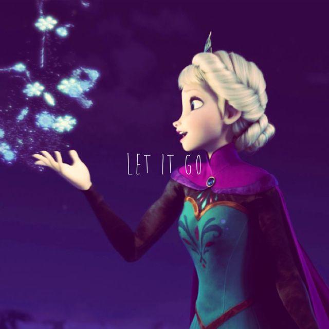Let it go - Elsa - Frozen