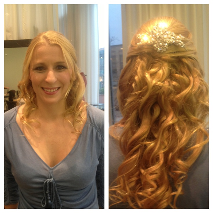 Wedding hair trial! :) | Our Wedding | Pinterest