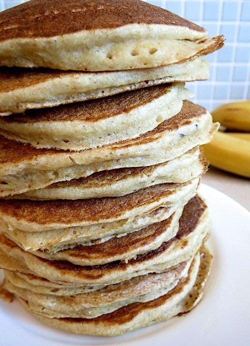 Banana, Brown Sugar and Ricotta Pancakes | Breakfast | Pinterest