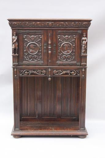 Spanish Revival antique dresser