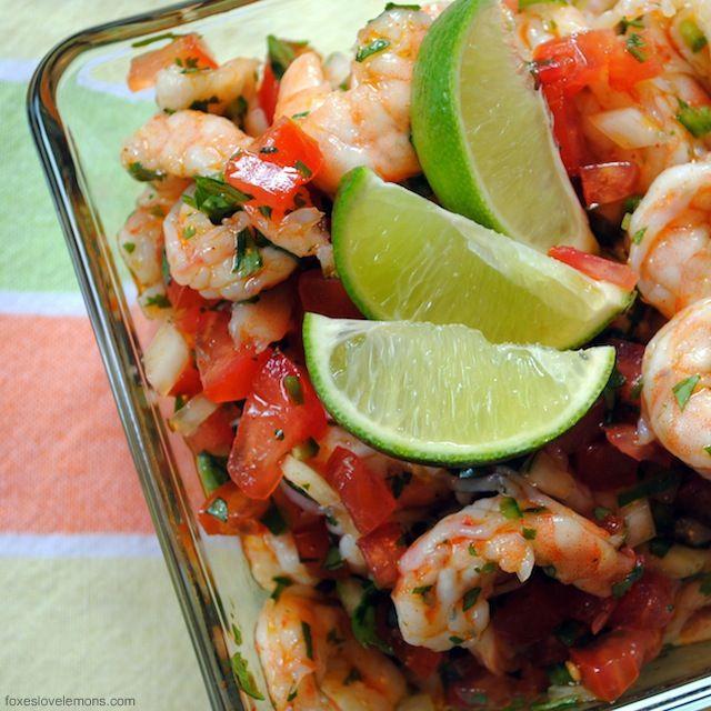 Shrimp Ceviche | food & drink | Pinterest