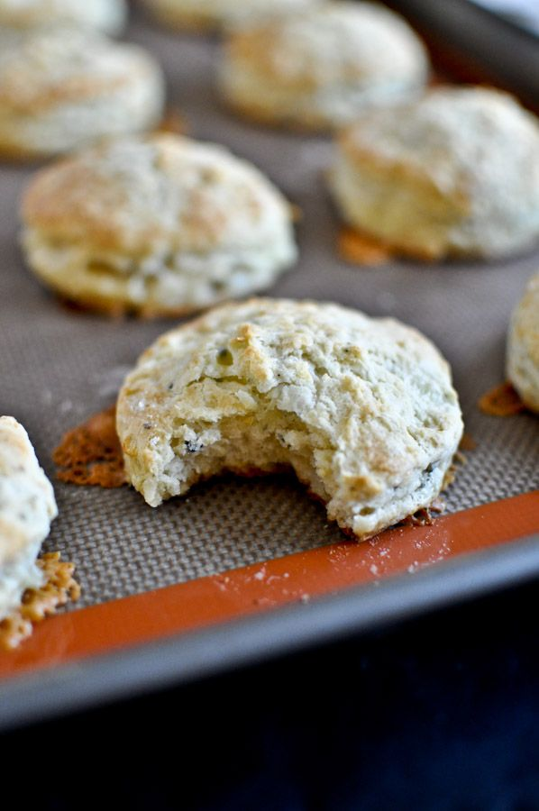 blue cheese biscuits with pinot noir butter -need these for Christmas ...