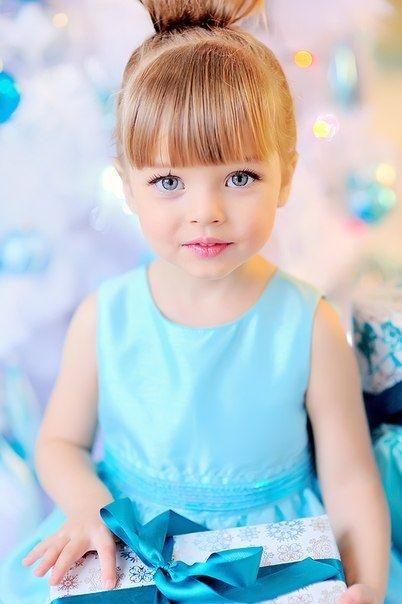 Показать фото детей модели