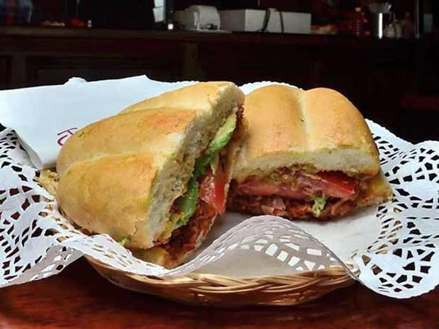 tortas de milanesa torta de milanesa milanesa pollo torta sandwich a ...