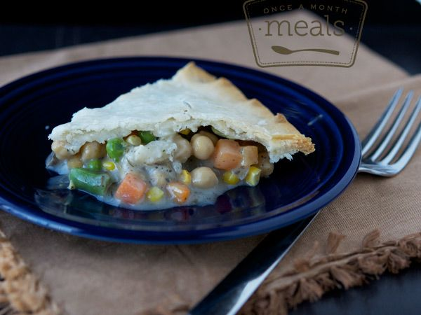 vegetarian...chickpea-potpie | Recipes ~ Freezer Meals | Pinterest