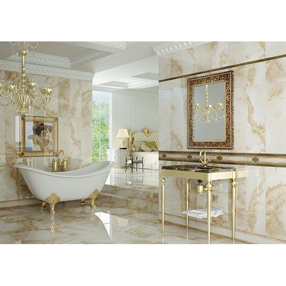 Salle de bains romantique by Aparici  Idées déco  Pinterest