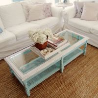 Beach Cottage Style Rustic Coffee Table Dreamin 39 For A Lake House