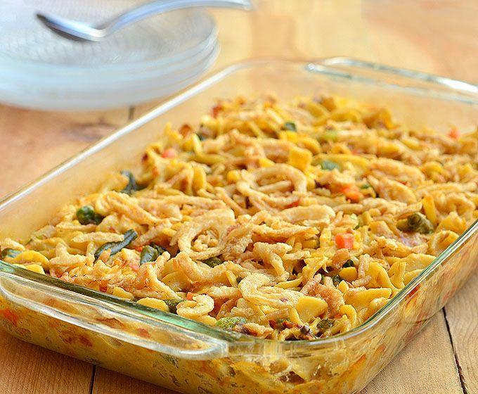 Easy-Cheesy Tuna Noodle Casserole | Recipe