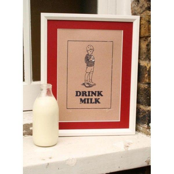 Boys Drink Milk Limited Edition of 80