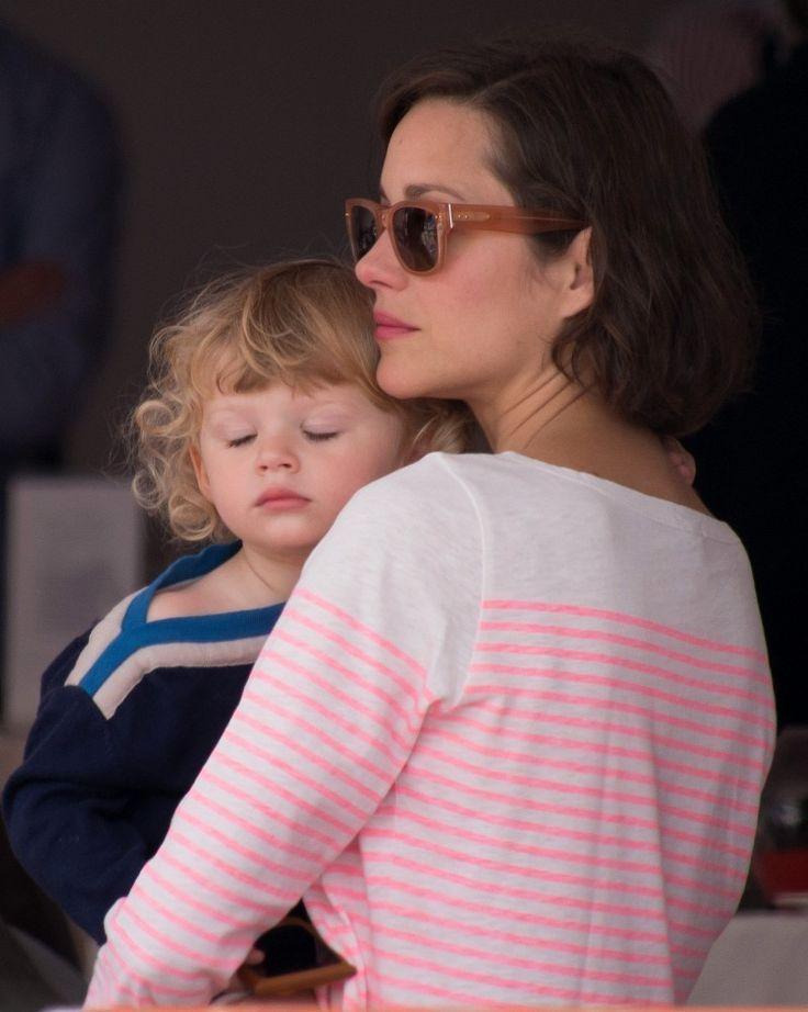 Marion Cotillard Photos: Marion Cotillard and Family at a ...