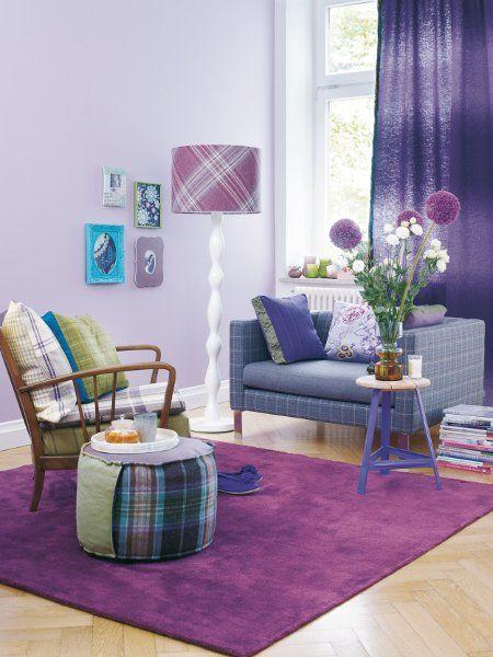 decoracao de sala lilas : decoracao de sala lilas:Artesanatto e Tal: Harmonia das Cores