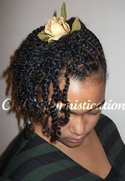 Cornrow Twists for Natural Hair