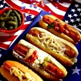 fourth of july hot dogs recipe