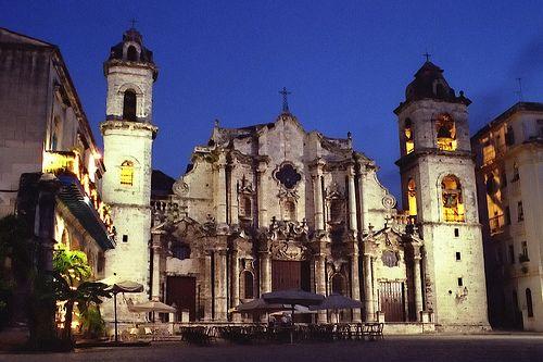 catedral de san cristobal de la habana   Cuba, my mother's ...