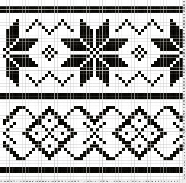 Fair Isle Patterns For Knitting : Lous Easy Fair Isle surface pattern (for want of a better term!)